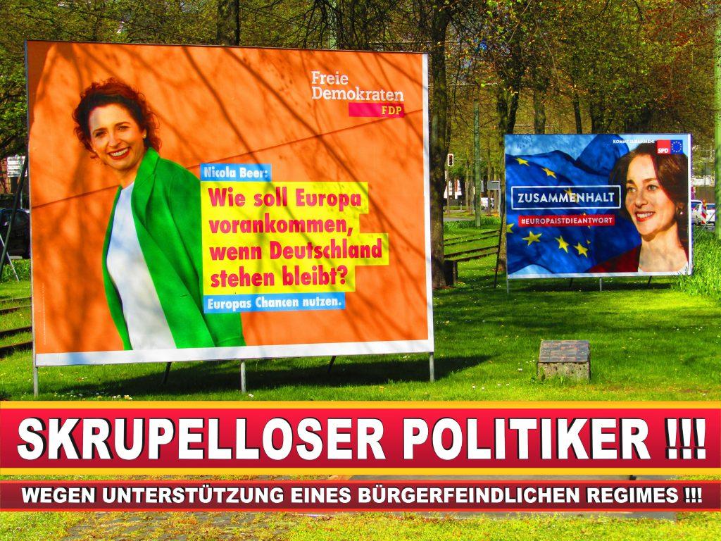 Europawahl Deutschland Wahlplakate CDU SPD FDP Grüne Linke AfD (48)