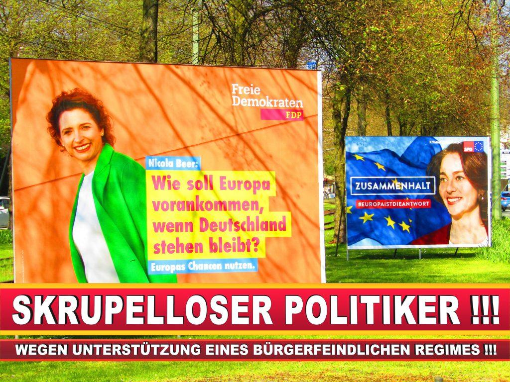 Europawahl Deutschland Wahlplakate CDU SPD FDP Grüne Linke AfD (50)