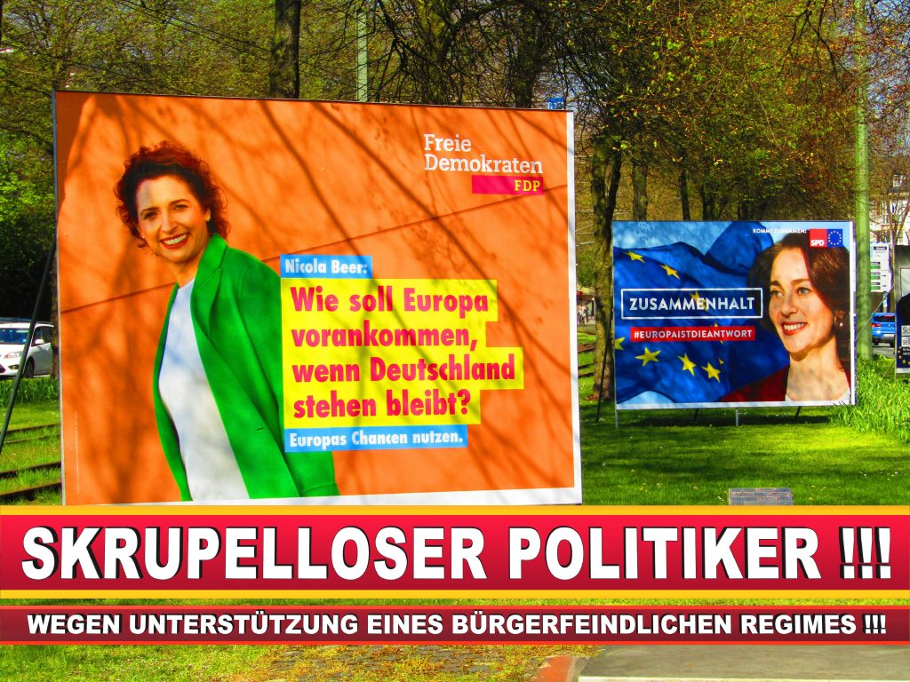 Europawahl Deutschland Wahlplakate CDU SPD FDP Grüne Linke AfD (51)