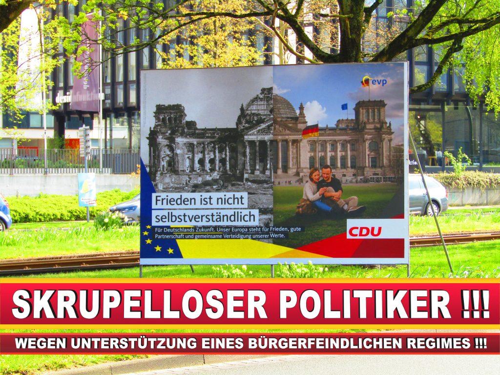 Europawahl Deutschland Wahlplakate CDU SPD FDP Grüne Linke AfD (61)