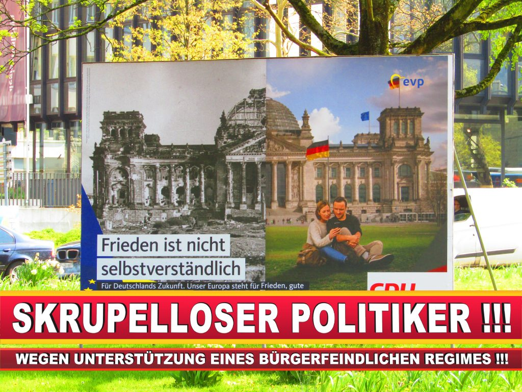 Europawahl Deutschland Wahlplakate CDU SPD FDP Grüne Linke AfD (62)