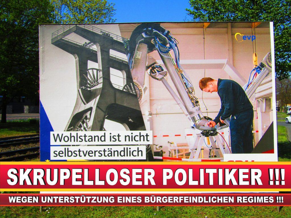 Europawahl Deutschland Wahlplakate CDU SPD FDP Grüne Linke AfD (72)