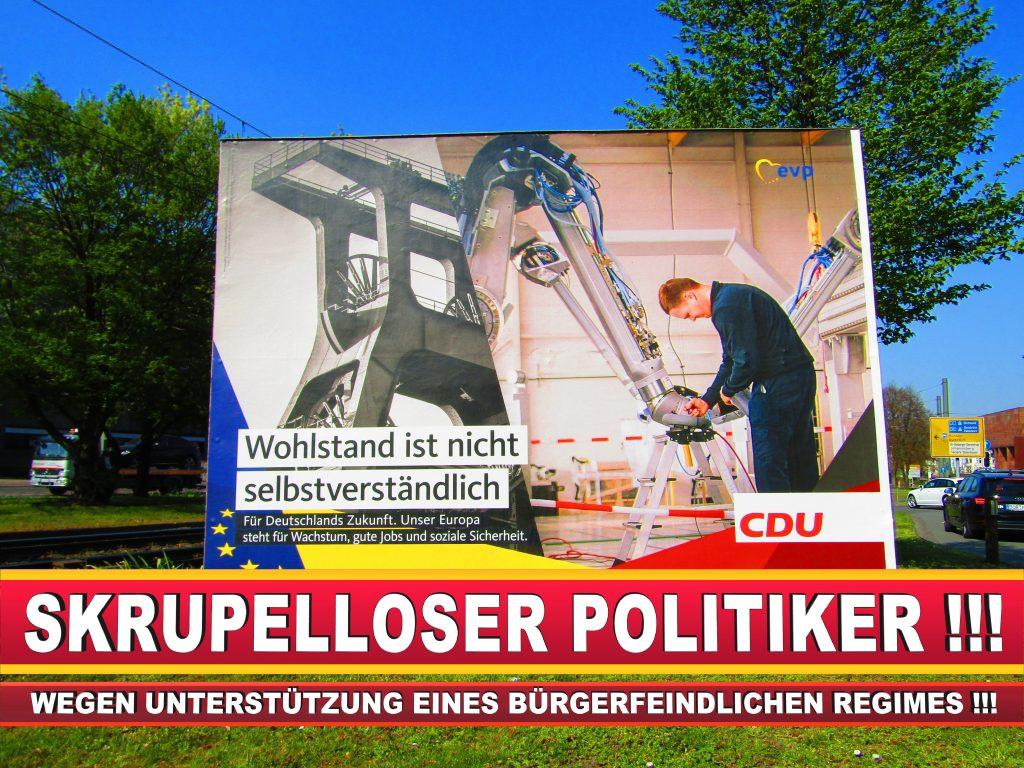 Europawahl Deutschland Wahlplakate CDU SPD FDP Grüne Linke AfD (73)