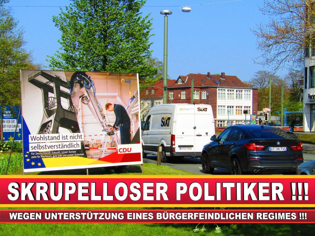 Europawahl Deutschland Wahlplakate CDU SPD FDP Grüne Linke AfD (75)
