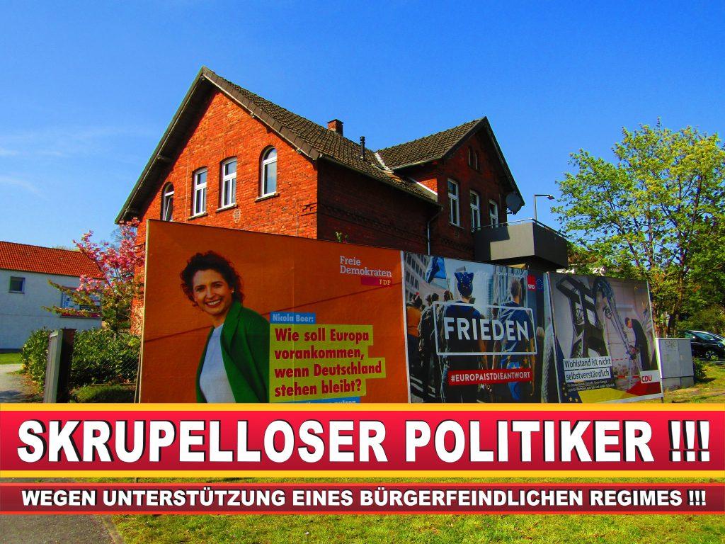 Europawahl Deutschland Wahlplakate CDU SPD FDP Grüne Linke AfD (84)