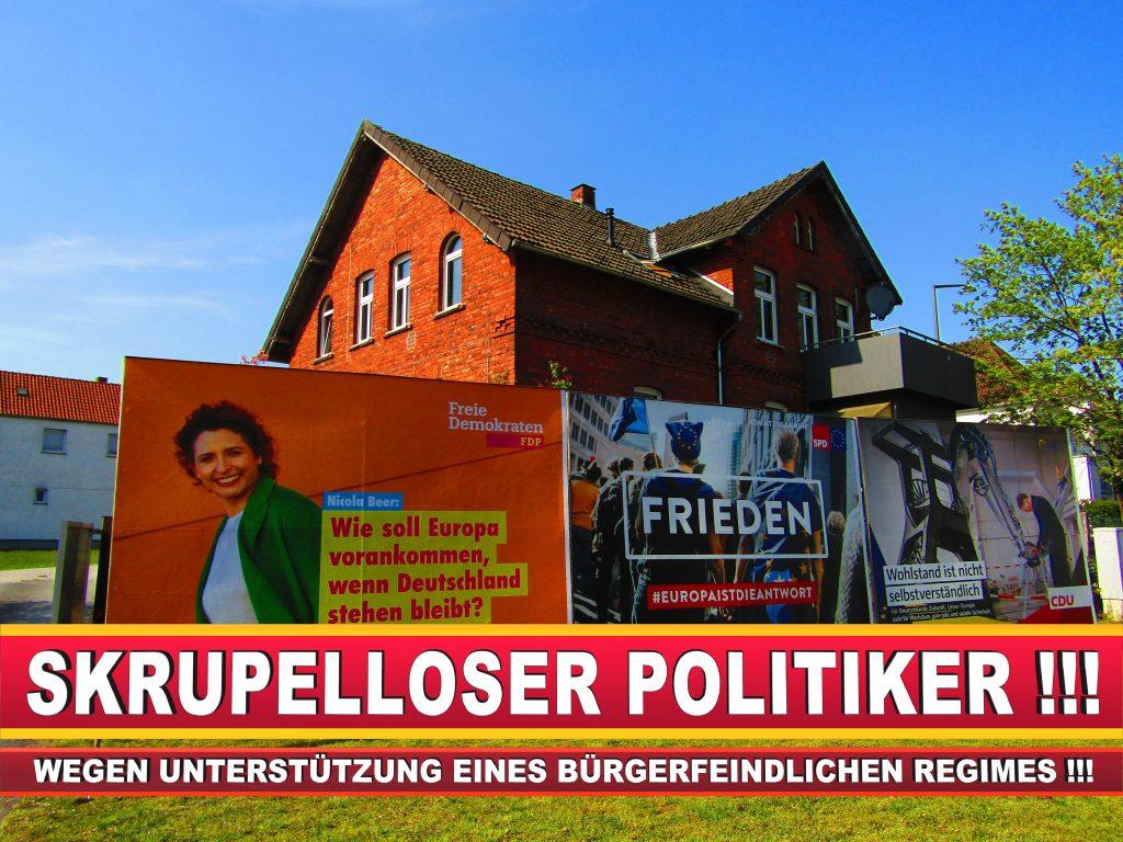 Europawahl Deutschland Wahlplakate CDU SPD FDP Grüne Linke AfD (85)