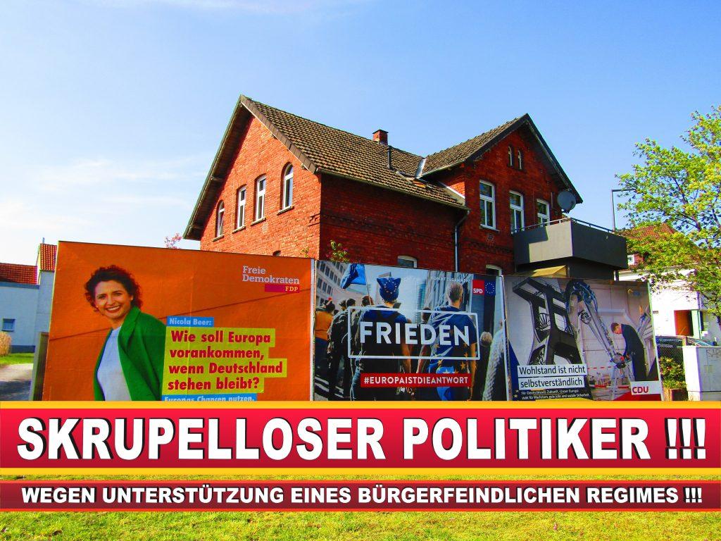 Europawahl Deutschland Wahlplakate CDU SPD FDP Grüne Linke AfD (87)