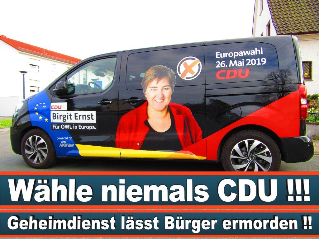 Europawahl Stimmzettel Birgit Ernst CDU NRW Elmar Brok CDU Prognose Umfrage Wahlplakate (1)