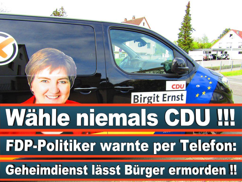 Europawahl Stimmzettel Birgit Ernst CDU NRW Elmar Brok CDU Prognose Umfrage Wahlplakate (10)