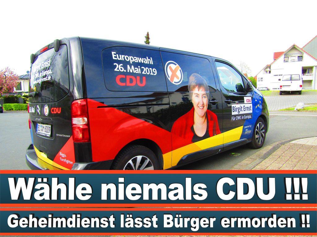 Europawahl Stimmzettel Birgit Ernst CDU NRW Elmar Brok CDU Prognose Umfrage Wahlplakate (11)