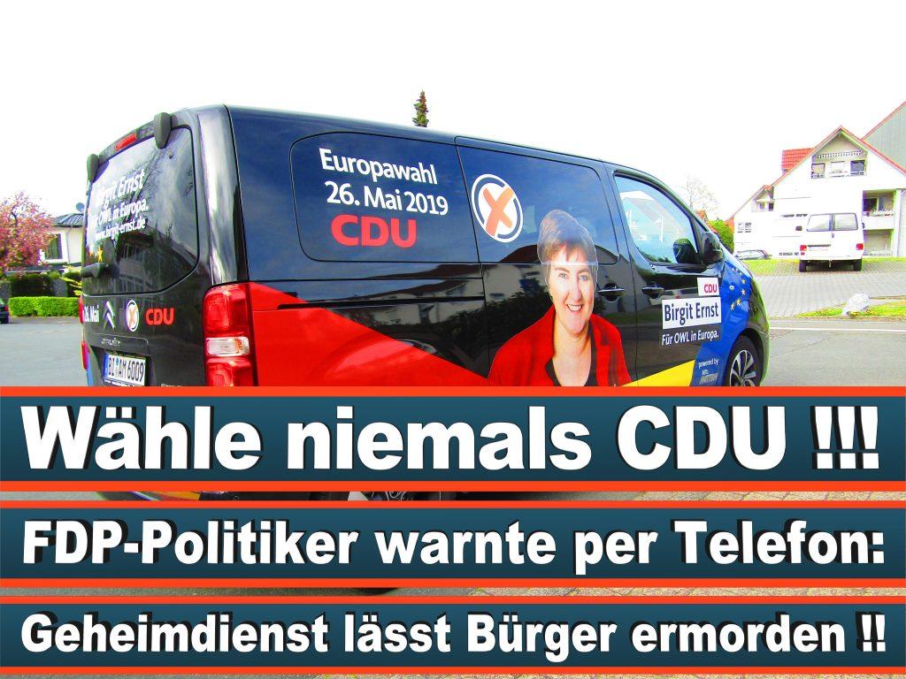 Europawahl Stimmzettel Birgit Ernst CDU NRW Elmar Brok CDU Prognose Umfrage Wahlplakate (12)