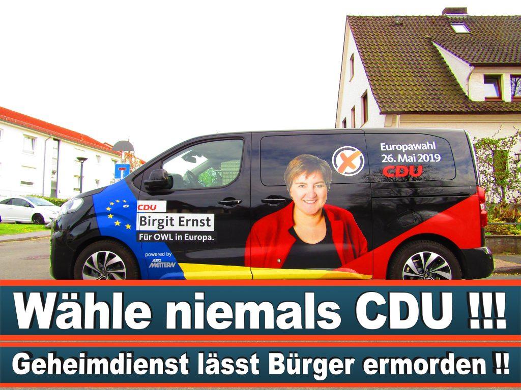 Europawahl Stimmzettel Birgit Ernst CDU NRW Elmar Brok CDU Prognose Umfrage Wahlplakate (3)