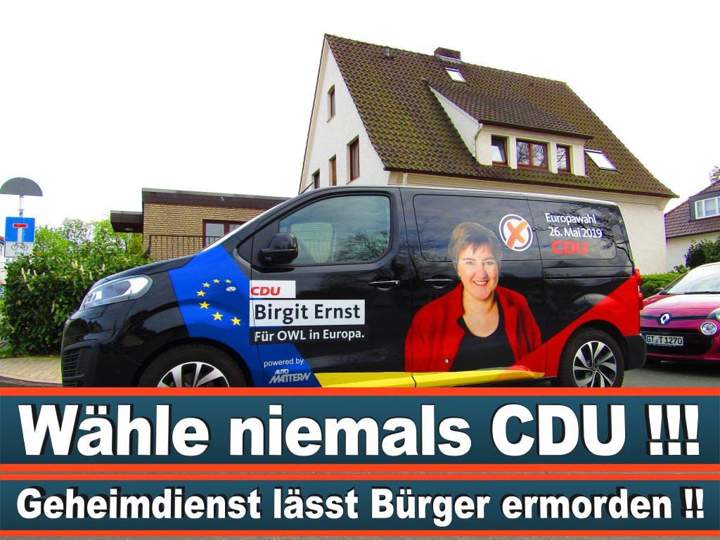 Europawahl Stimmzettel Birgit Ernst CDU NRW Elmar Brok CDU Prognose Umfrage Wahlplakate (5)