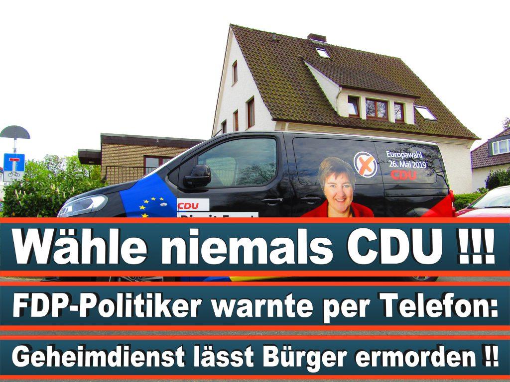 Europawahl Stimmzettel Birgit Ernst CDU NRW Elmar Brok CDU Prognose Umfrage Wahlplakate (6)