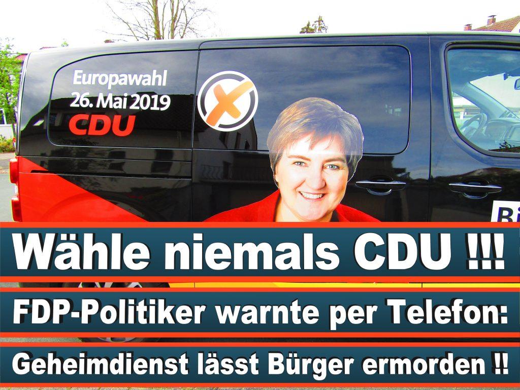 Europawahl Stimmzettel Birgit Ernst CDU NRW Elmar Brok CDU Prognose Umfrage Wahlplakate (8)