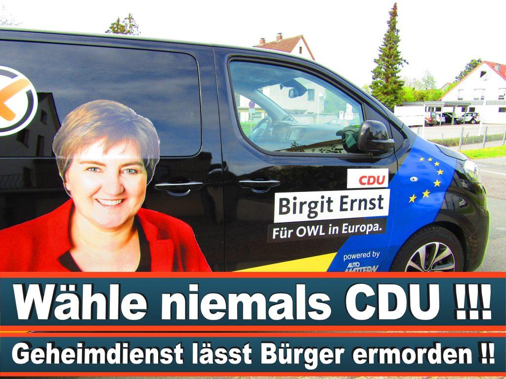 Europawahl Stimmzettel Birgit Ernst CDU NRW Elmar Brok CDU Prognose Umfrage Wahlplakate (9)