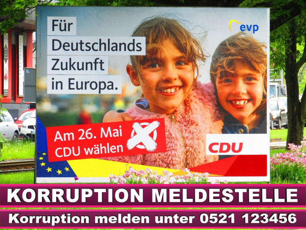 Europawahl 2019 Florian Wilde Wahlplakat CDU (45)