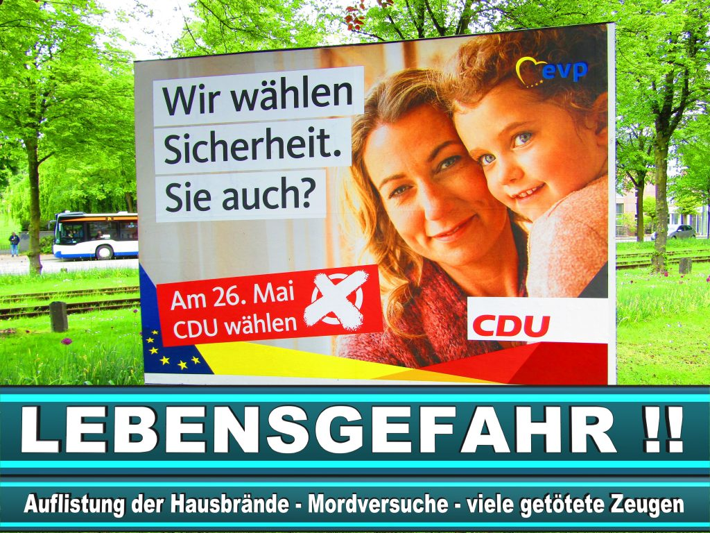 Europawahl 2019 Gabriele Bischoff Wahlplakat CDU (26) 2