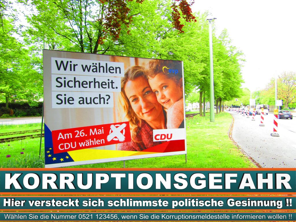 Europawahl 2019 Landesliste Bayern Wahlplakat CDU (18) 1