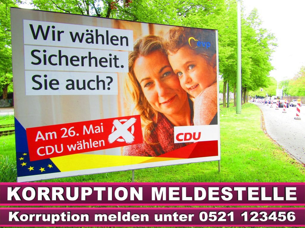Europawahl 2019 Markus Ferber MdEP Wahlplakat CDU (19)