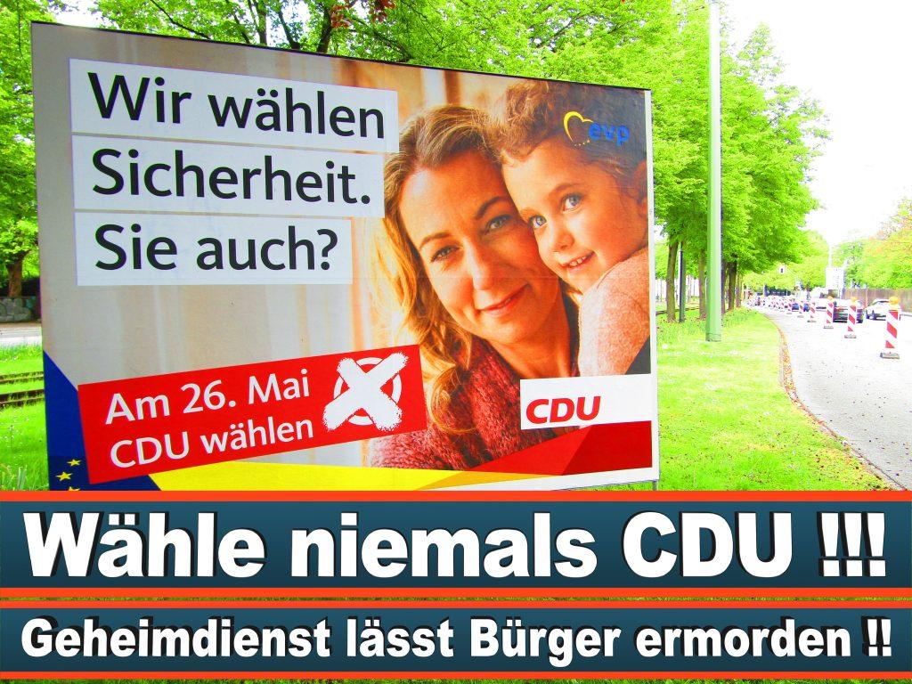 Europawahl 2019 Marlene Mortler MdB Wahlplakat CDU (19) 3
