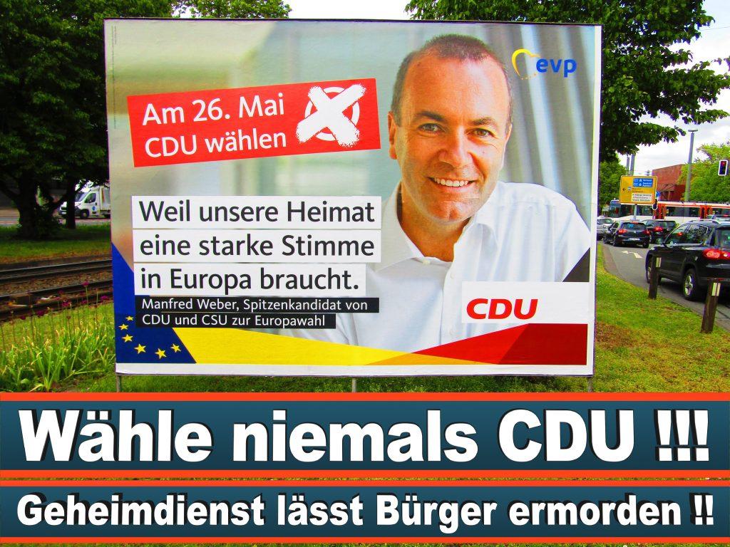 Europawahl 2019 NPD Plakate CDU (11) 3