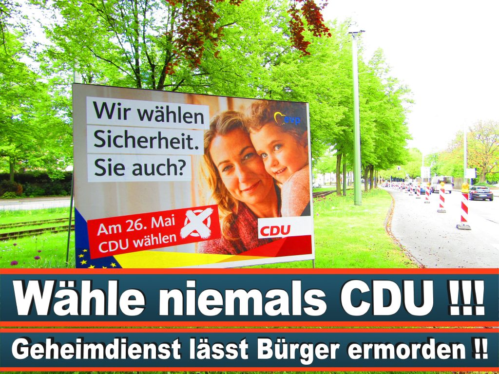 Europawahl 2019 Prof Dr Angelika Niebler MdEP Wahlplakat CDU (18) 3