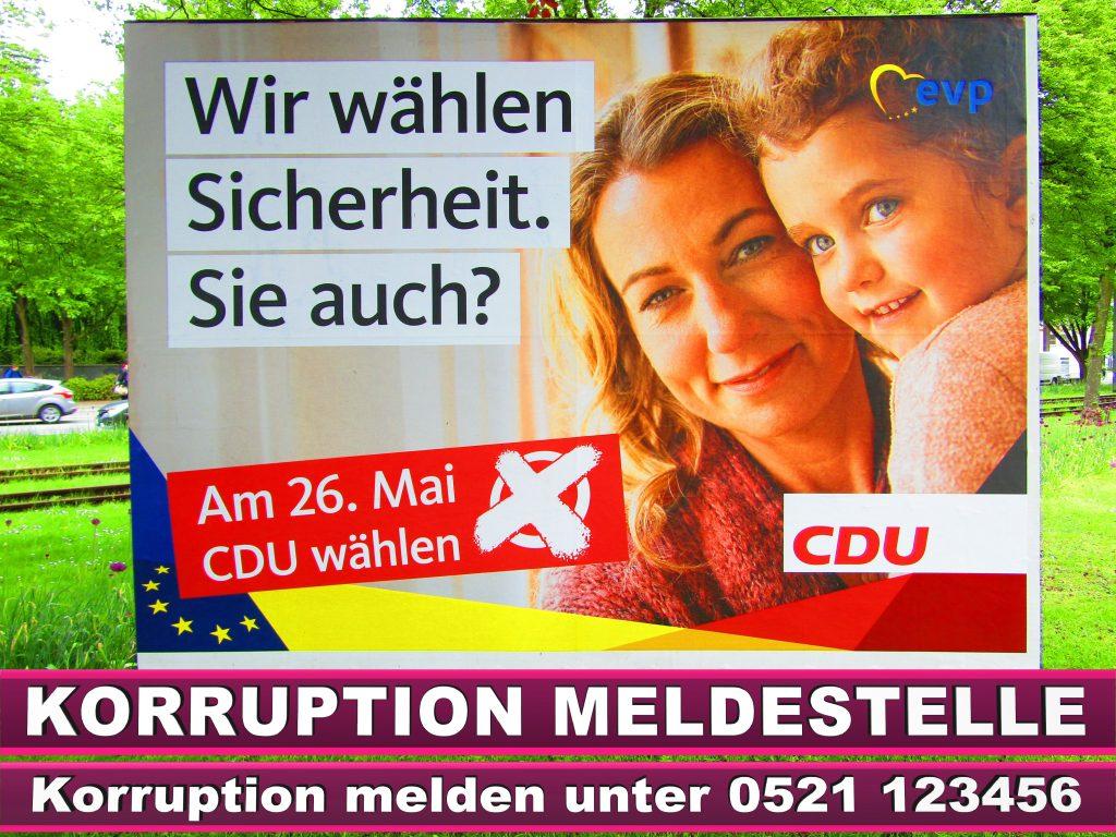 Europawahl 2019 SPD Wahlplakat CDU (24)