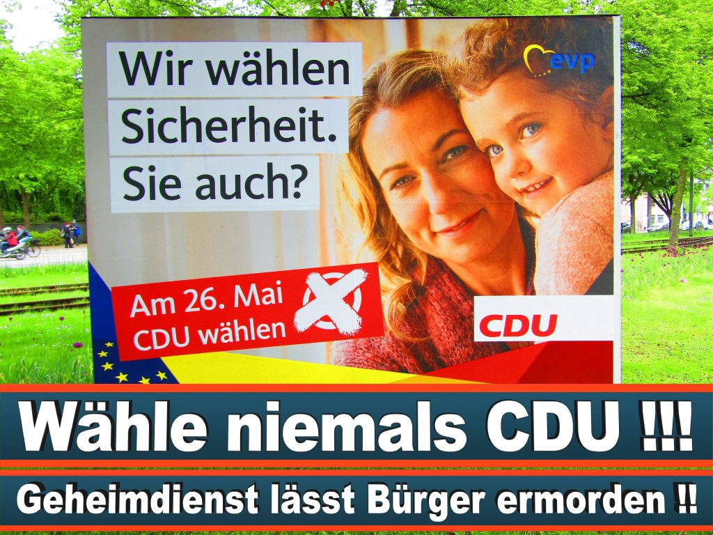 Europawahl 2019 Spitzenkandidat Der CSU Wahlplakat CDU (23) 3