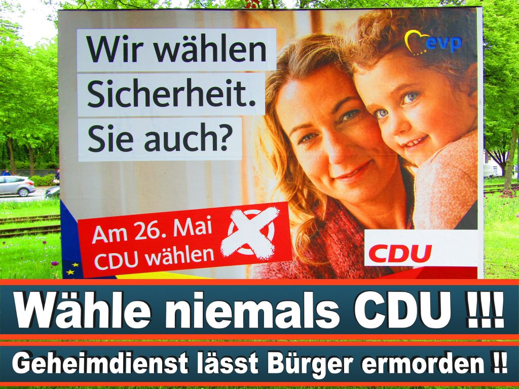 Europawahl 2019 Udo Bullmann Wahlplakat CDU (24) 3
