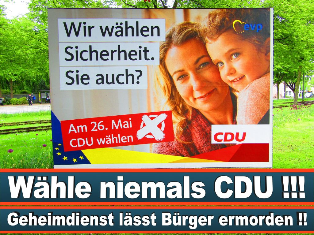 Europawahl 2019 Walburga Frfr Von Lerchenfeld Wahlplakat CDU (22) 3