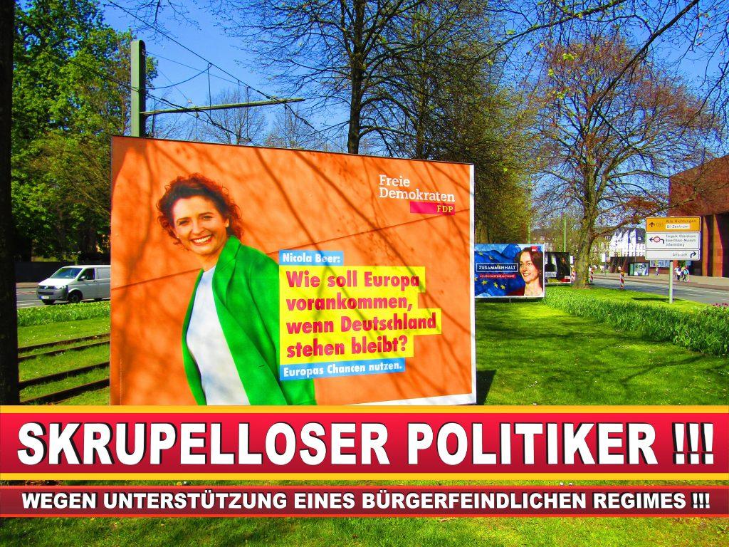 Europawahl Deutschland Wahlplakate CDU SPD FDP Grüne Linke AfD (34)