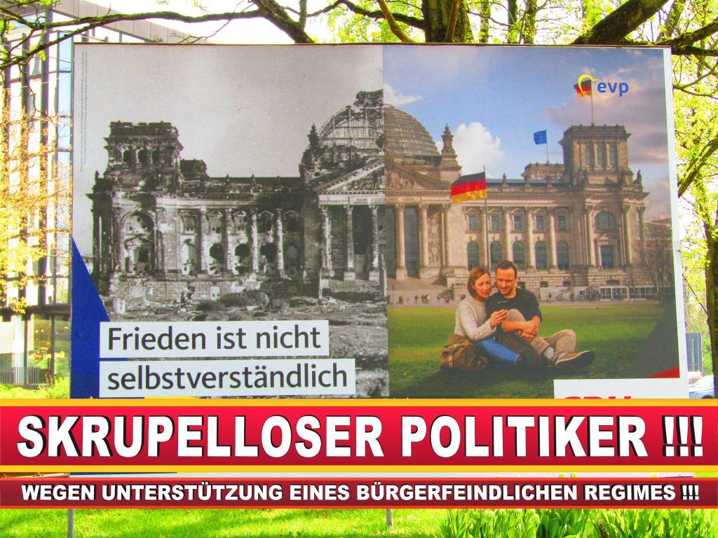 Europawahl Deutschland Wahlplakate CDU SPD FDP Grüne Linke AfD (65)