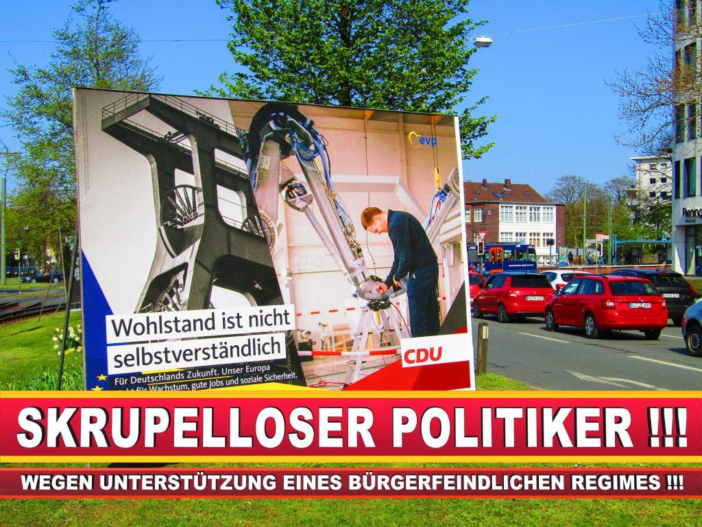 Europawahl Deutschland Wahlplakate CDU SPD FDP Grüne Linke AfD (70)