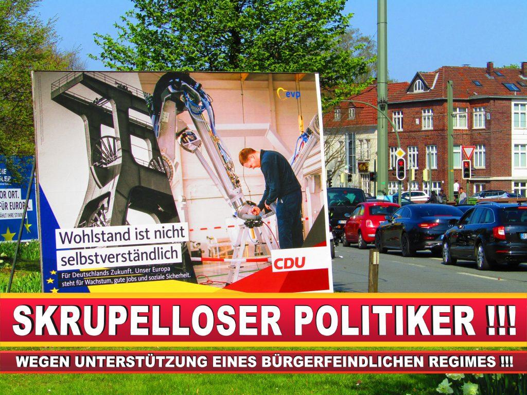 Europawahl Deutschland Wahlplakate CDU SPD FDP Grüne Linke AfD (76)