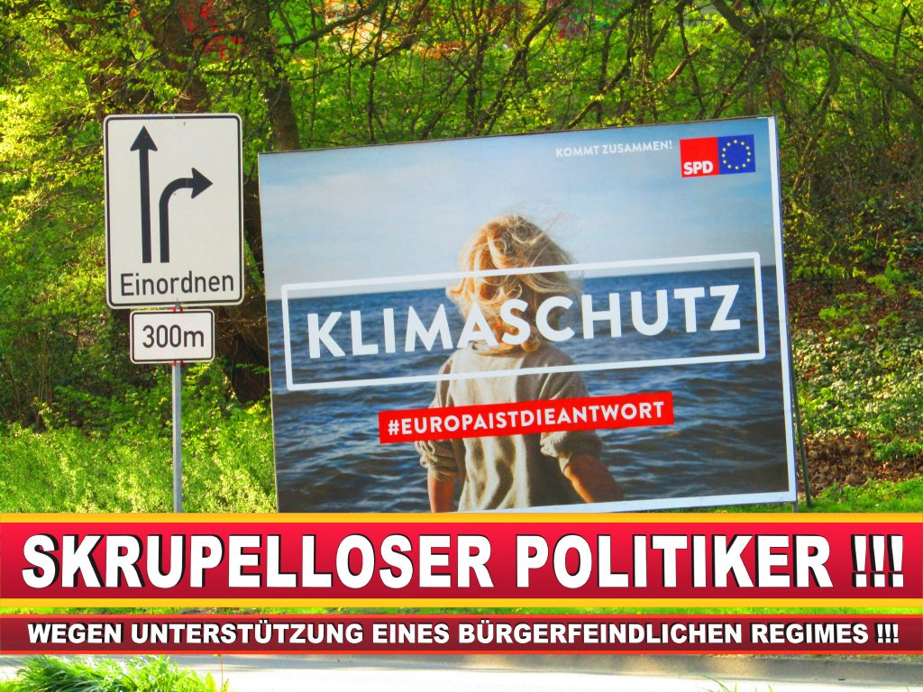 Europawahl Deutschland Wahlplakate CDU SPD FDP Grüne Linke AfD (77)