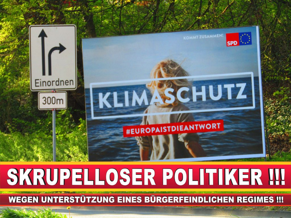 Europawahl Deutschland Wahlplakate CDU SPD FDP Grüne Linke AfD (78)
