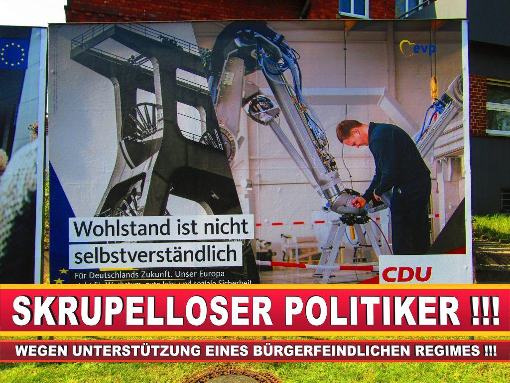 Europawahl Deutschland Wahlplakate CDU SPD FDP Grüne Linke AfD (88)