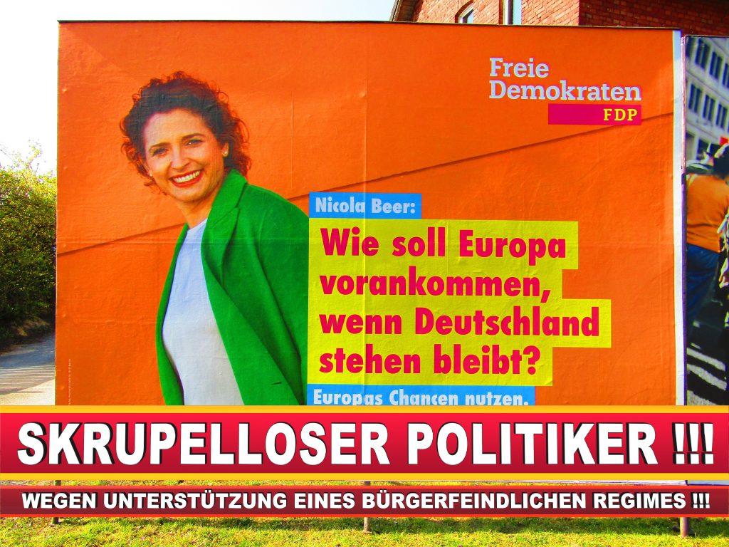 Europawahl Deutschland Wahlplakate CDU SPD FDP Grüne Linke AfD (90)