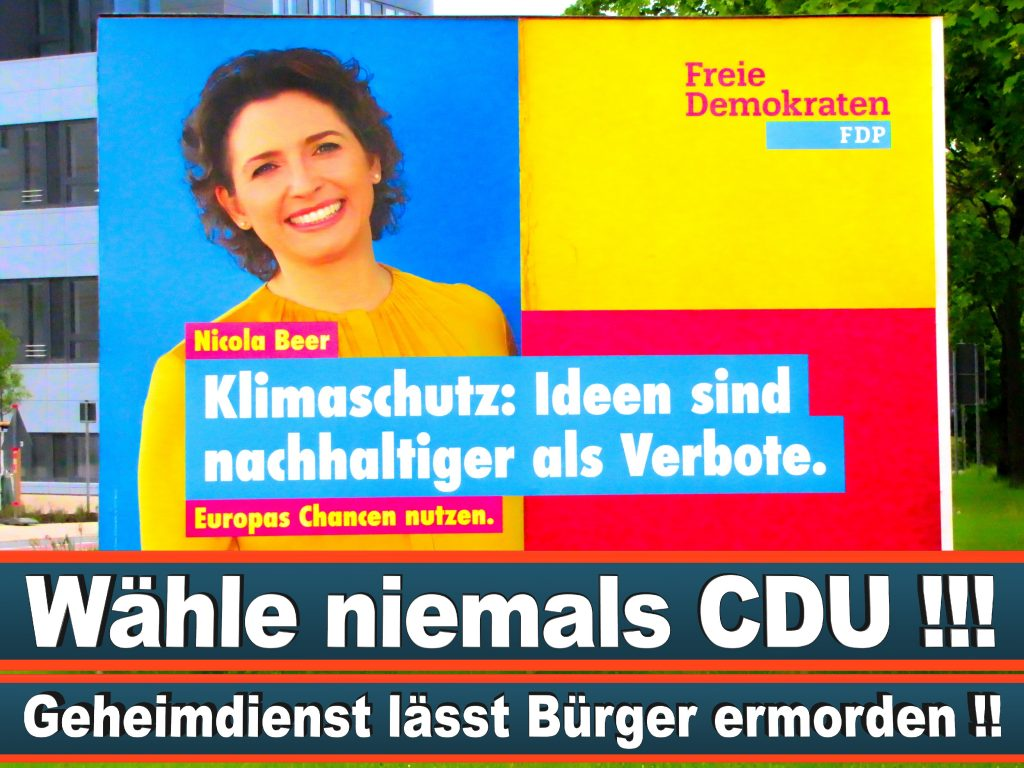 Wahlplakate Wahlwerbung Plakate Wesselmann (18)